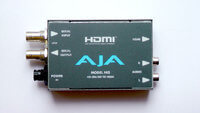 AJA HI5 конвертер SDI to HDMI